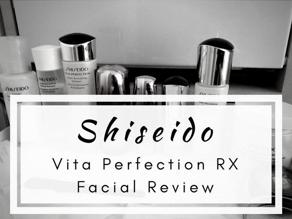 Shiseido Vita Perfection RX Facial Review