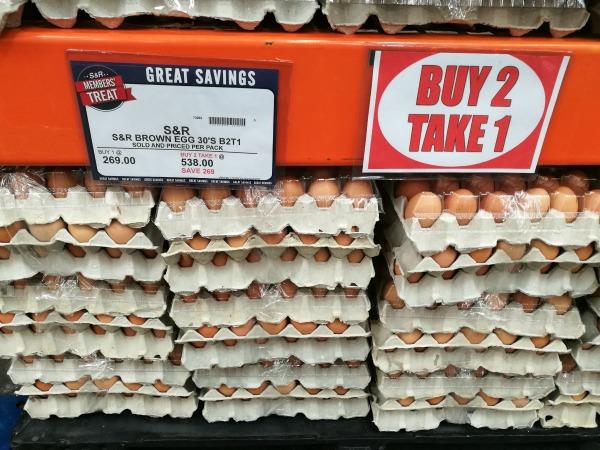 SnR Brown Eggs B2T1