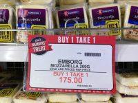 SnR Emborg Mozzarella B1T1
