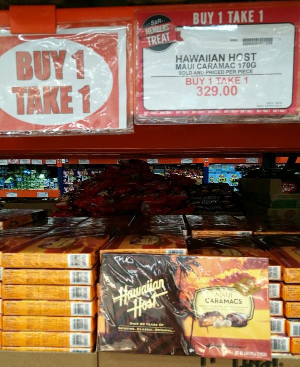 SnR Hawaiian Host Caramacs Buy 1 Take 1