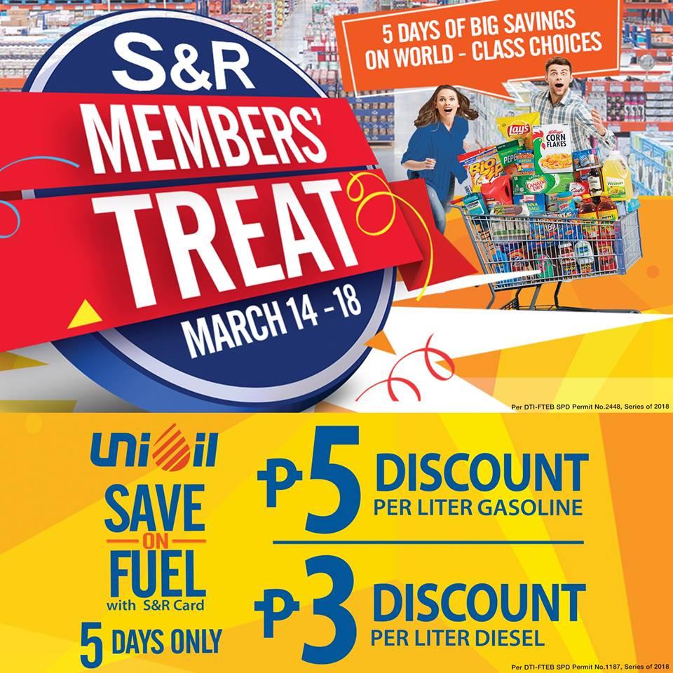 SnR Unioil MT Discount