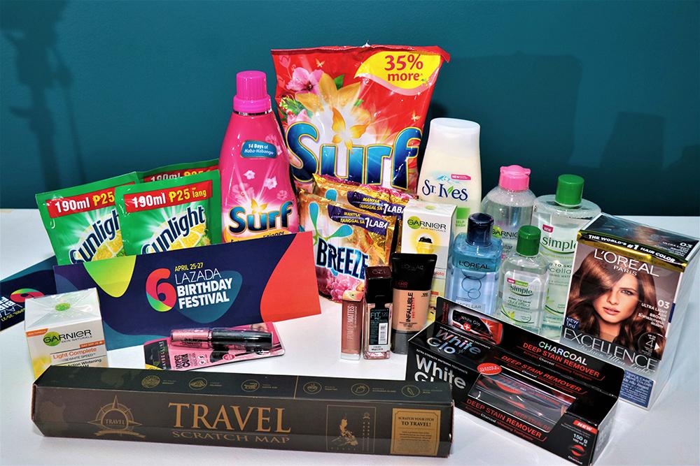 Lazada 6th Birthday Sale Box of Joy