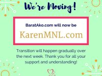 BaratAko to change to KarenMNL
