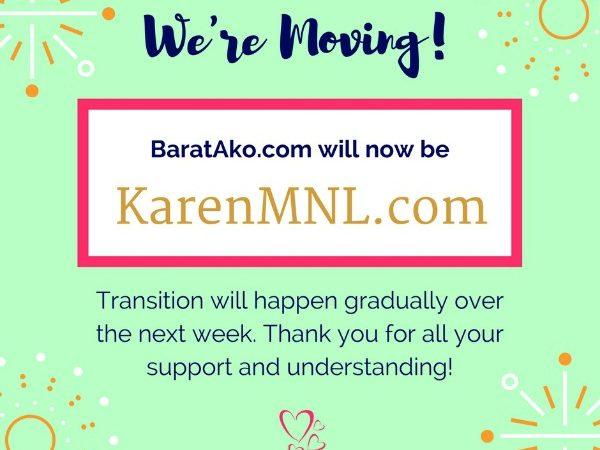 BaratAko to change to KarenMNL