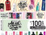 Get P100 OFF on All Things Hair Summer Sale at Lazada!