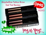 Maybelline Tattoo Brow Gel Tint Review – How I Ended Up with Green Brows + How to Fix It