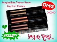 Maybelline Tattoo Brow Gel Tint Review Featured Image