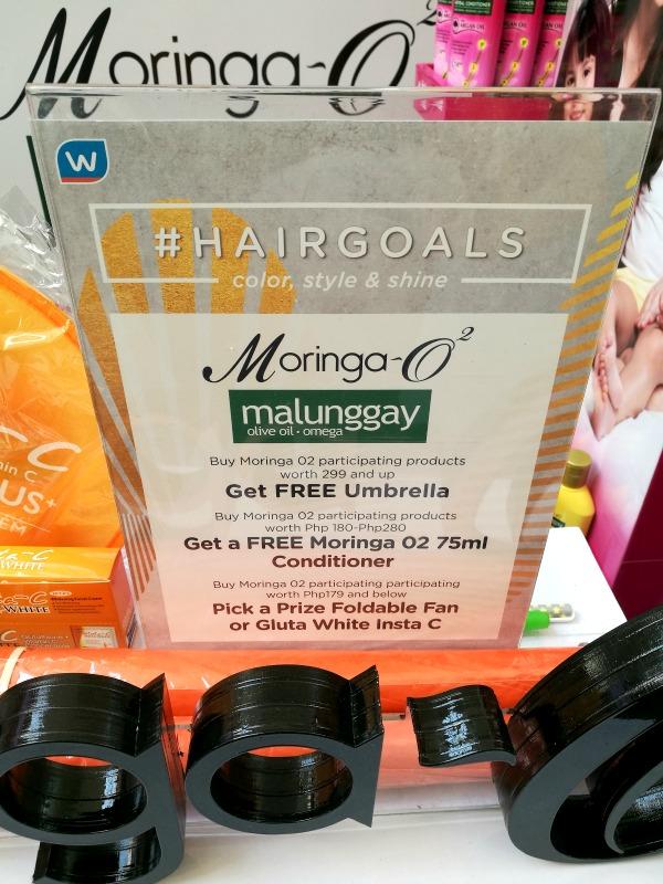 Moringa-O Malunggay Hair Goals Promo
