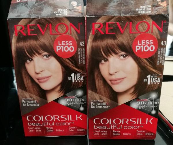 Revlon Hair Color 43 Medium Golden Brown Box