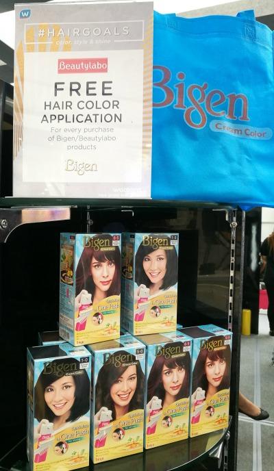 Watsons Hair Goals Bigen Beautylabo