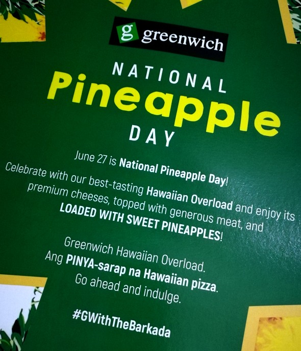 Greenwich National Pineapple Day