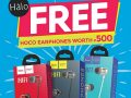 Promo Alert! Free HOCO Earphone with HALO Backpack Purchase
