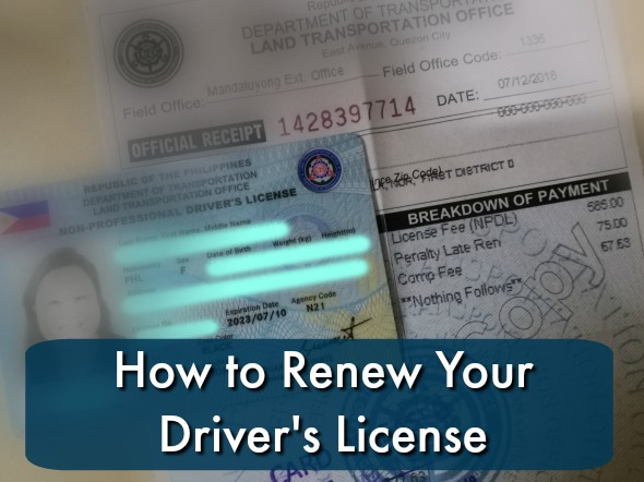 How to Renew Your Driver's License 2018 - Karen MNL
