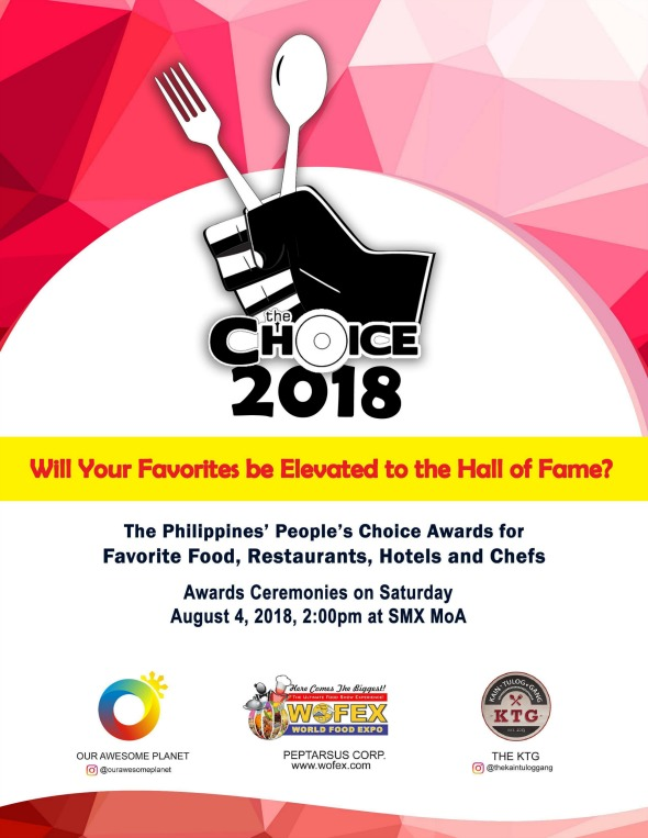 The Choice 2018 Poster