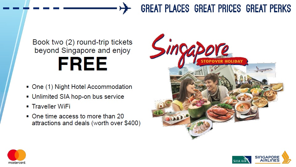 Singapore Airlines Free Overnight