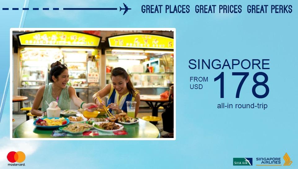 Singapore Airlines Getaway RT Economy