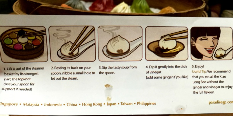 Paradise Dynasty Xiao Long Bao Eating Guide 2