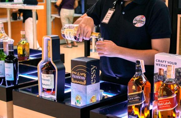 SM Tasting Corner Hennessy