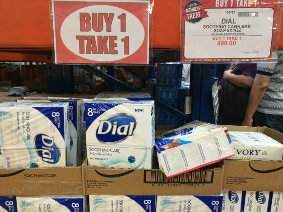 SnR Members Treat Buy 1 Take 1 Dial Soap