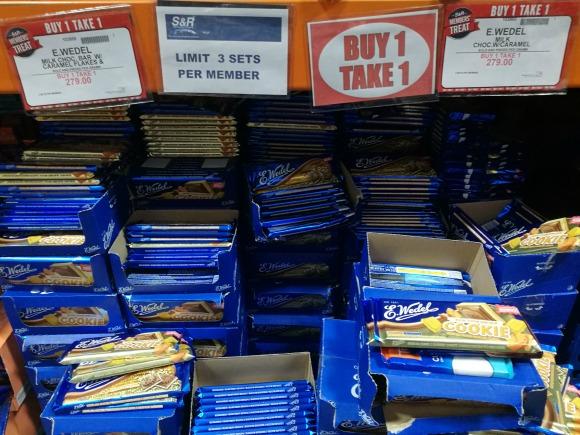 SnR Members Treat Buy 1 Take 1 E Wedel