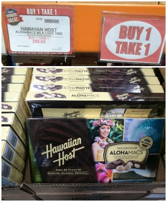 SnR Members Treat Buy 1 Take 1 Hawaiian Host AlohaMacs
