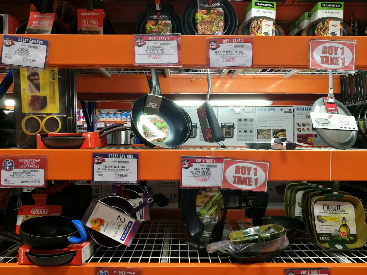 SnR Members Treat Buy 1 Take 1 Pots Pans