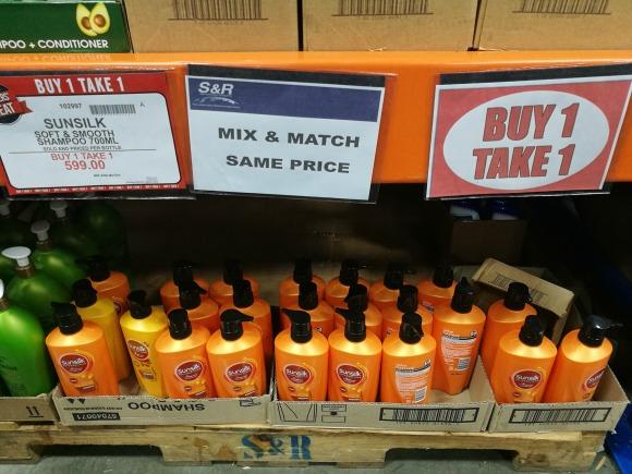SnR Members Treat Buy 1 Take 1 Sunsilk
