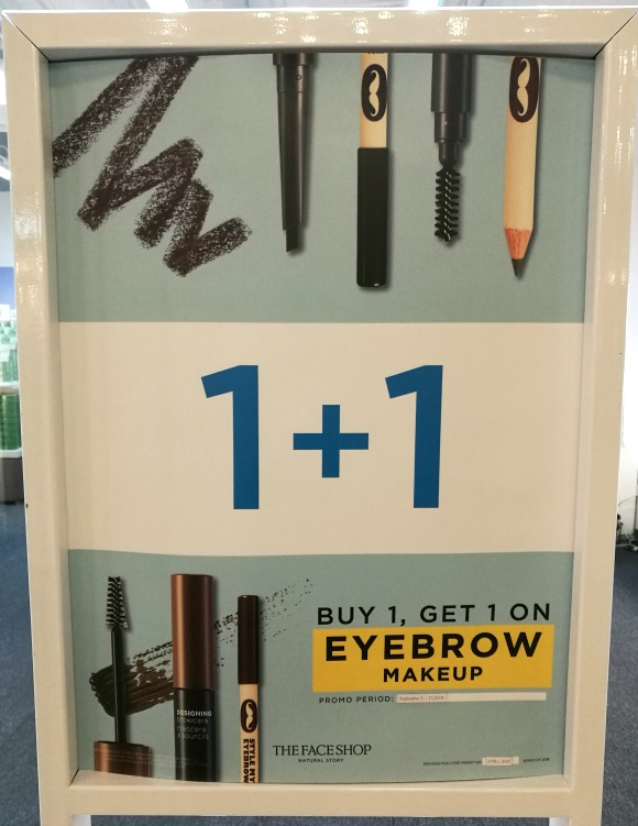 The Face Shop Brows Buy 1 Take 1