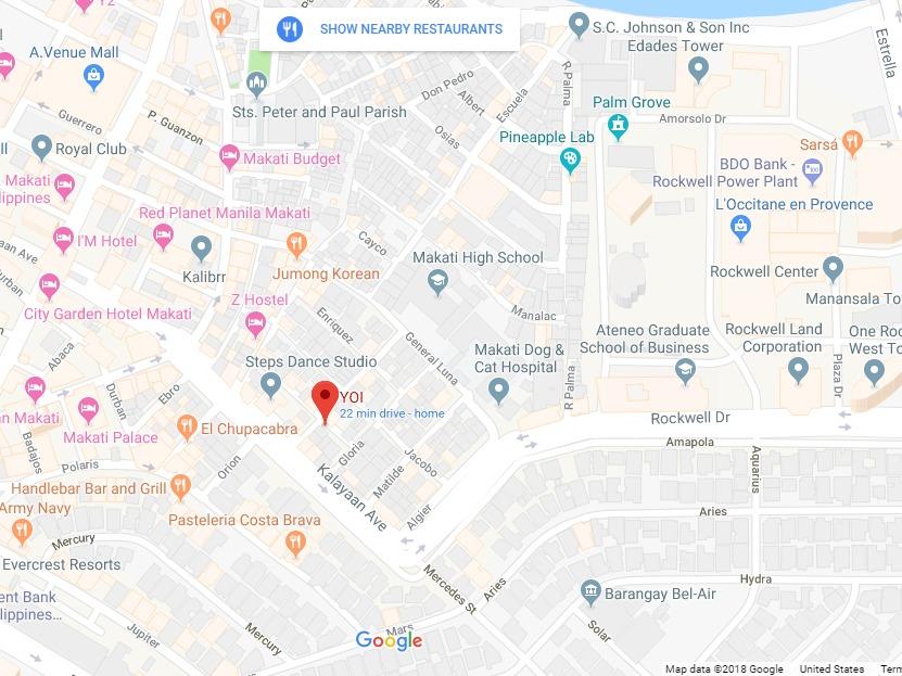 Yoi Sake Bar Map Poblacion