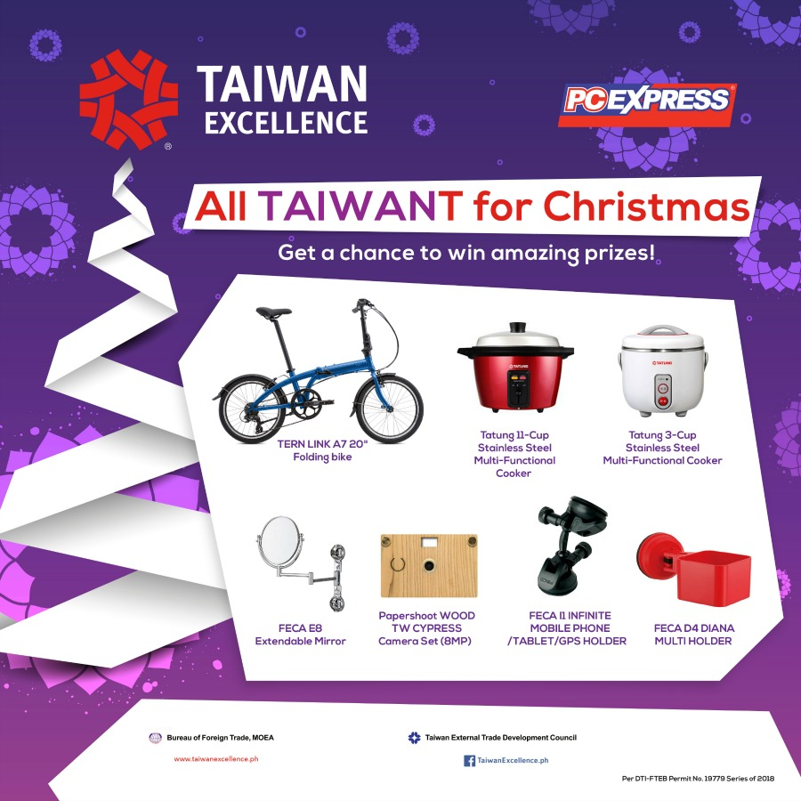 All Taiwant for Christmas