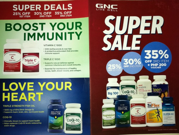GNC Super Sale