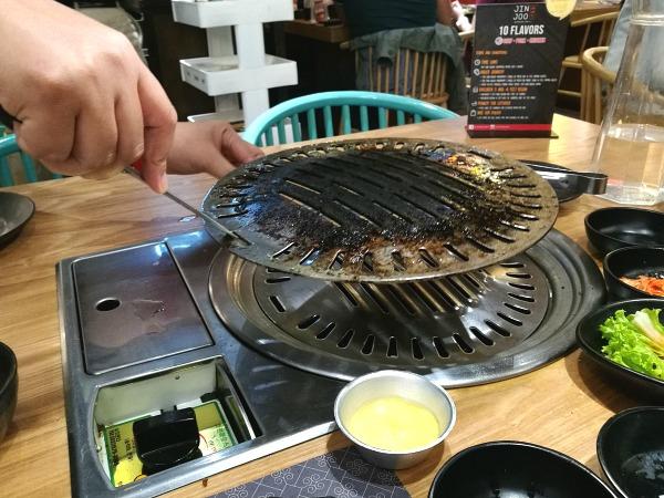 Jin Joo Korean Grill Unli Barbecue Change Grill
