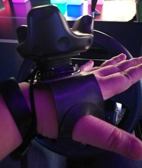 The Garage City of Dreams Mario Kart Karen VR Zone Hands