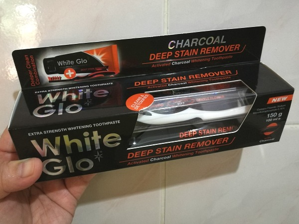 White Glo Charcoal Deep Stain Remover Toothpaste