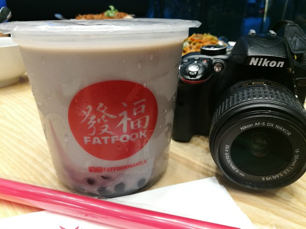 Fat Fook Taro Milk Tea
