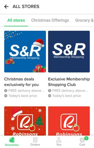 Honestbee Christmas Offerings 2018 App All Stores
