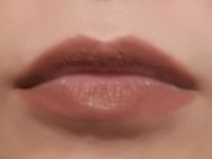 LOreal Infallible Pro Matte Liquid Lipstick Cowboy After 2 Meals Close Up