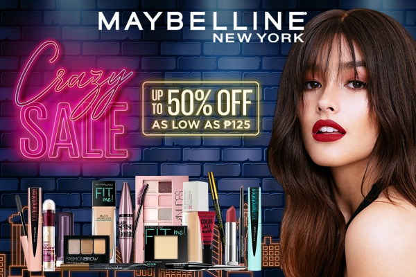 Maybelline Crazy Sale