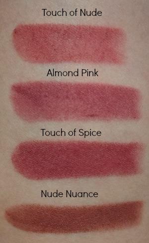 Maybelline Matte Lipsticks Swatches