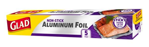 Glad Non-stick Aluminum Foil