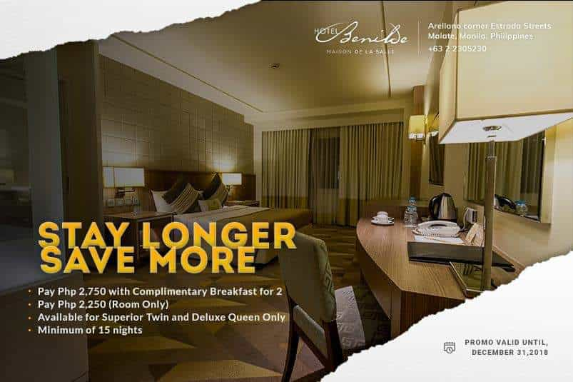 Hotel Benilde Long Stay Rates