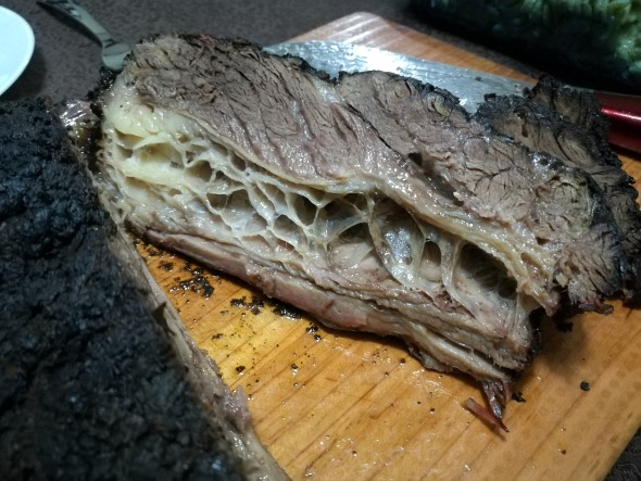 Roast Beef Belly Inside No Flash