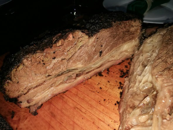 Roast Beef Belly Inside With Flash