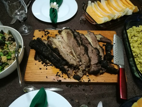 Roast Beef Belly Sliced Noche Buena Table