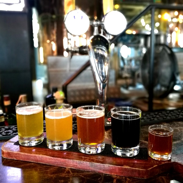 The-Brewery-at-the-Palace-Beer-Flight-and-Christmas-Beer