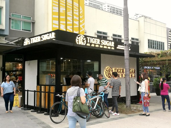 Tiger Sugar Philippines Opens in BGC Today + Menu and Prices - Karen MNL
