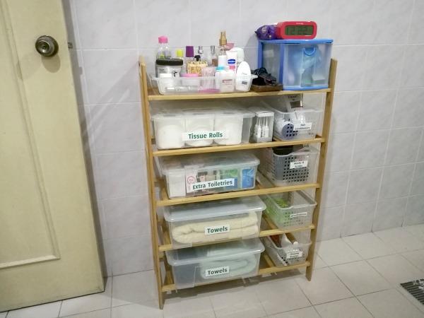 Bathroom Shelf New