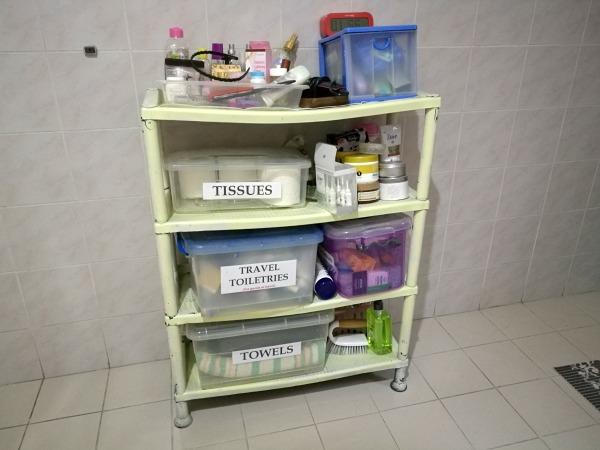 Bathroom Shelf Old