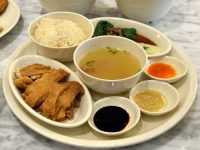 Nanyang Hainanese Chicken Rice