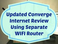 Updated Converge Internet Review Using Separate WIFI Router